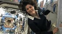 Suni Williams on the ISS