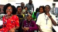 BBC Yoruba team