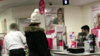 Post office verbal abuse