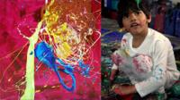 At age 4, Advait Kolarkar has already held three exhibitions and sold his paintings for thousands.