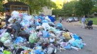 Lviv rubbish pile