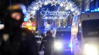 Рождественская ярмарка в Страсбурге после стрельбы