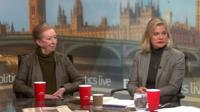 Dame Margaret Beckett and Justine Greening MP