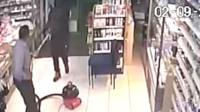 Shop cleaner fends off robber with hoover
