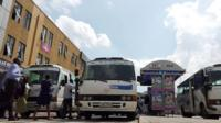 Buses in Kigali, Rwanda