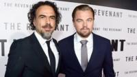 Alejandro Inarritu and Leonardo DiCaprio