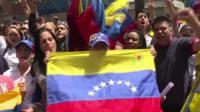 Venezuelans voting