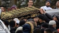 The coffin of Yasser Yaqub