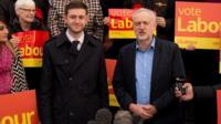 Jim McMahon and Jeremy Corbyn