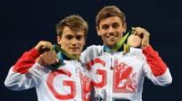 Tom Daley and Daniel Goodfellow