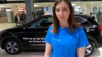 Rachel Clarke and electric car