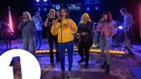 Dua Lipa in the Live Lounge