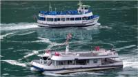 Niagara Falls boat tours highlight pandemic safety measure differences in the US and Canada.