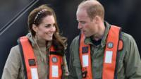 The-duke-and-duchess-of-Cambridge.