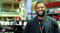 LGBT correspondent Ben Hunte