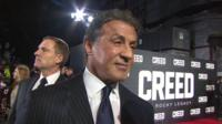 Sylvester Stallone interview with Lizo Mzimba at the 'Creed' premiere