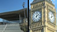 The Senedd and Westminster