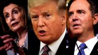 Pelosi, Trump, Schiff
