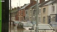 Flooding in Northampton 1998