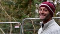 Matt Bishop set up the protest camp in October