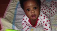 Rashael's son Rasharn as a baby