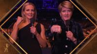 Gabby Logan and Clare Balding