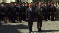President Francois Hollande observing minute of silence
