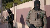 Сотрудники иракских служб безопасности