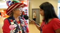 Republican delegate speaks to BBC