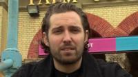 Josh Franceschi at Alexandra Palace