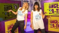 Tess and Claudia to dance 24-hour for Comic Relief