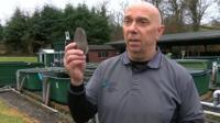 Dr John Taylor is one of those trying to revive the fortunes of the Welsh freshwater pearl mussel