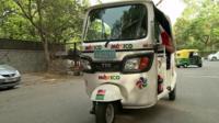 Mexican ambassador's rickshaw