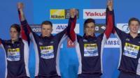 GB relay team win silver