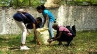 Urwaruko ruriko rurasukura umucanga w'ikiyaga Tanganyika