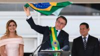 Jair Bolsonaro takes office