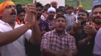 Protesters at Sabarimala temple