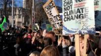 climate strike protests