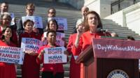 nancy pelosi at day without a woman