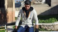 Amir, a Syrian rapper