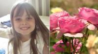 Saffie Roussos and a Saffie rose