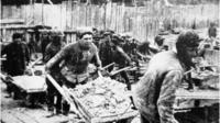 Soviet forced labour camps
