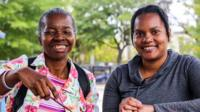 A training course in Washington DC teaches people living with disabilities to become paid carers for others with disabilities.