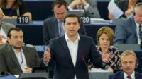Greek Prime Minister, Alexis Tsipras