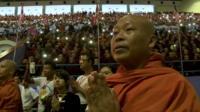 A Ma Ba Tha monk