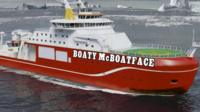 Boaty McBoatface graphic