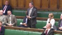 Chris Leslie speaking in Commons