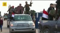 Convoys of armed men arrive in Afrin