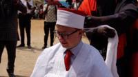 Teenager made Nigerian tribal chief