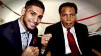 Amir Khan and Muhammad Ali